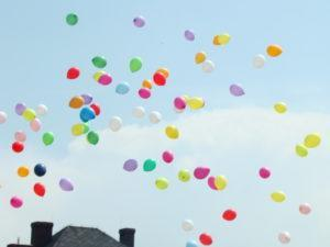 balony z helem katowice