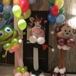 dekoracja balonowa urodzinowa