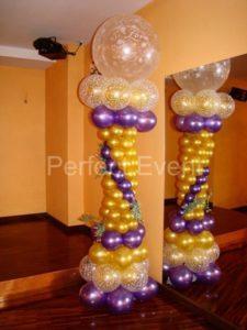 kolumna balonowa weselna
