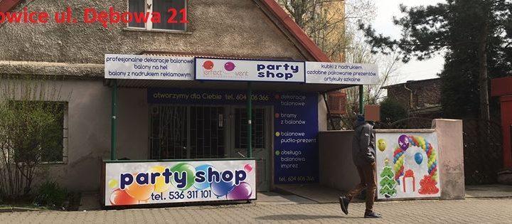 party shop katowice, sklep z balonami katowice