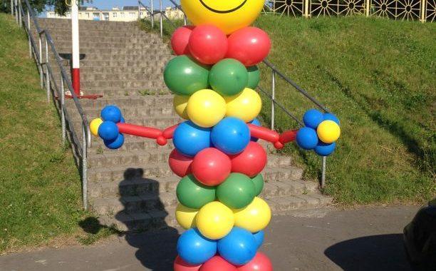 postacie z balonów - balony ruda śląska