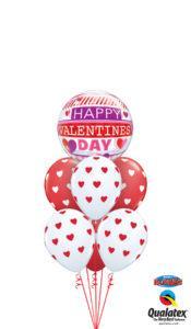 bukiet balonowy na walentynki