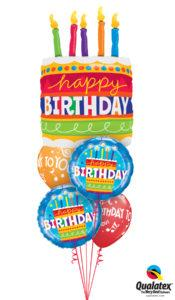 bukiet balonowy urodzinowy