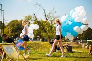 serwis balonowy warszawa, pompowanie balonów warszawa