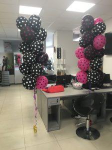 Otwarcie Fale Loki Koki Opole dekorcja z balonów z helem