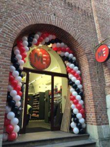 brama balonowa w krakowie