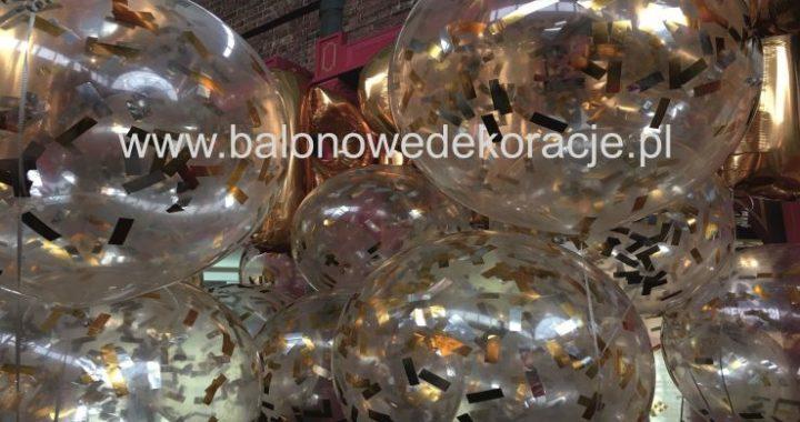 Balony Z Konfetti Napelnione Helem W Fashion House Sosnowiec