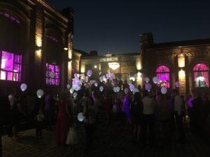 balony z LEDami