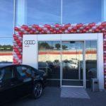 brama z balonów Audi Gliwice