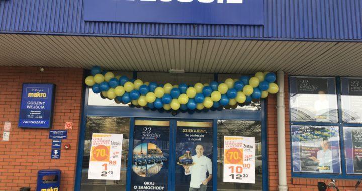 dekoracja wejścia balonami do Marko