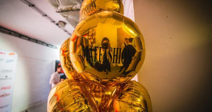 złoty balon foliowy z nadrukiem - maffashion urodziny