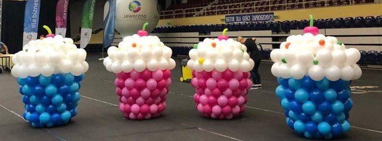 balonowe ciasteczka - mufinki z balonow