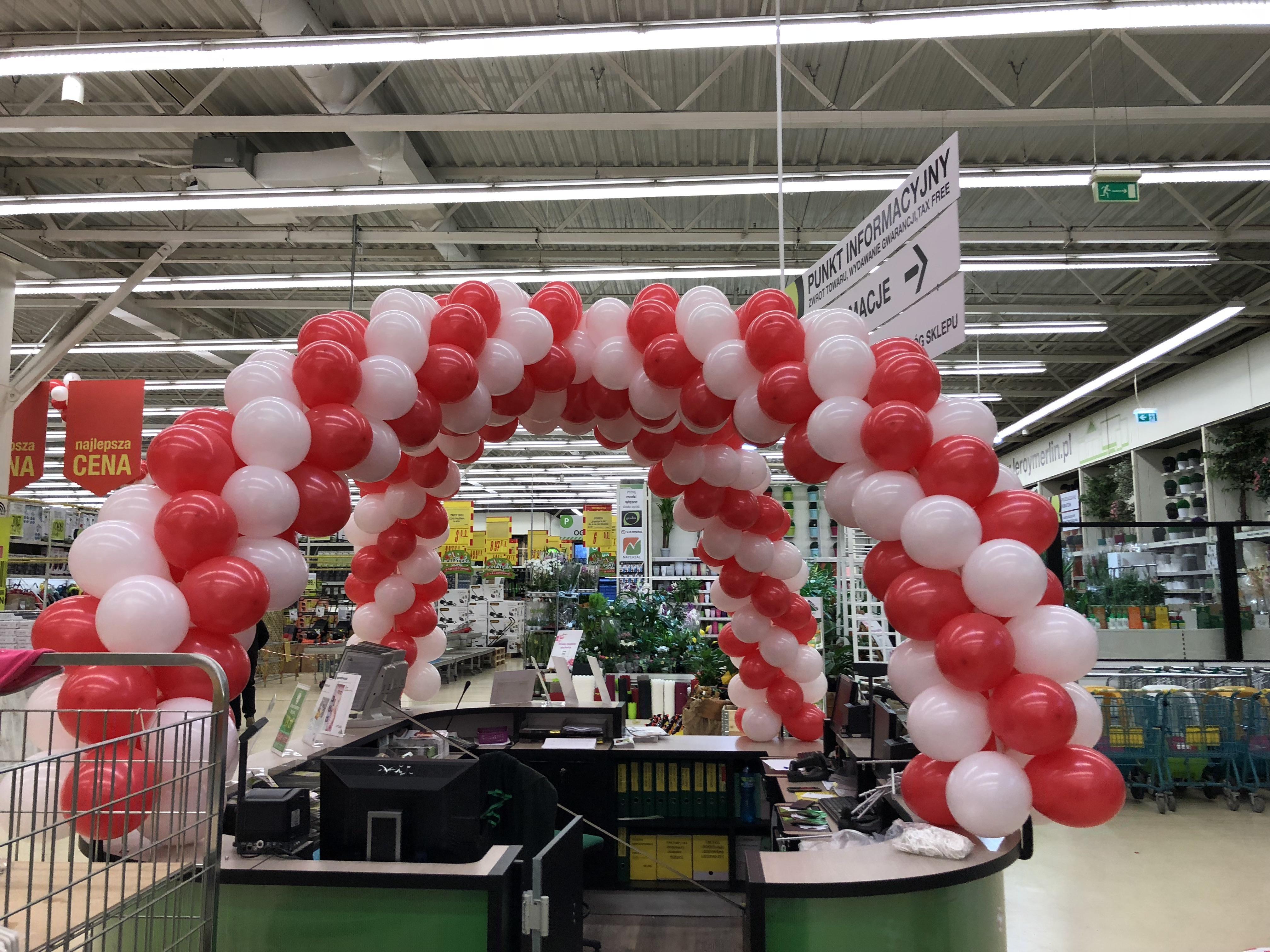 Dekoracja Balonami Punktu Infromacyjnego W Leroy Merlin Dekoracje Balonowe Katowice