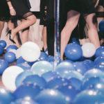 balony już na ziemi - grad balonów
