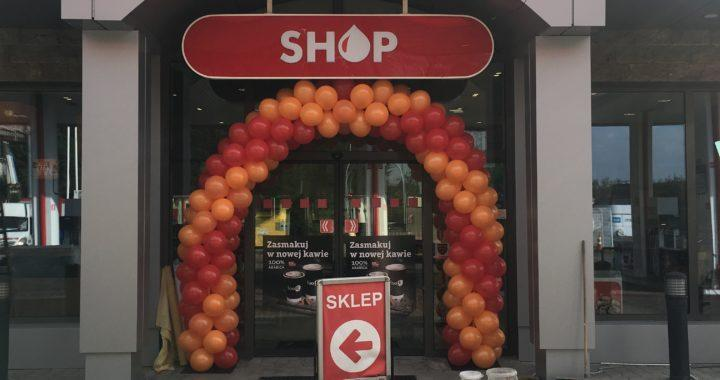 brama z balonów Katowice