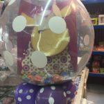 pakowanie prezentów w balon