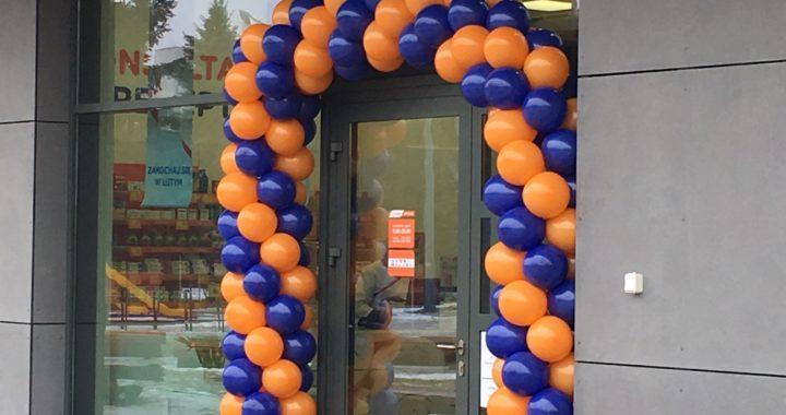 brama z balonów Sandomierz Galeria Królewska