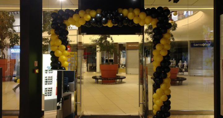 balony na otwarcie sklepu w Łodzi