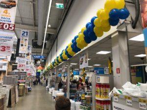50 metrowa girlanda balonowa Castorama