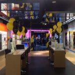 dekoracja balonami sklepu Trendy Opticans