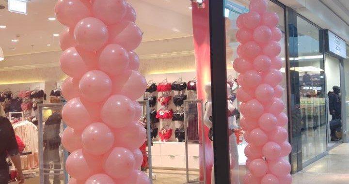 balony w Gdańsku na otwarciu sklepu