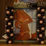 dekoracja balonowa na otwarcie Poupee Marilyn