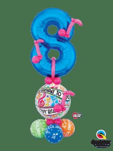 bukiet balonowy dla chłopca