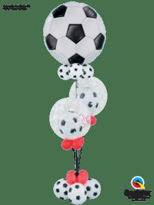 bukiet z balonów piłkarski piłka nożna