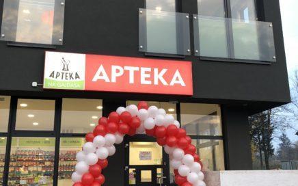 Brama balonowa na otwarcie Apteki w Radzionkowie