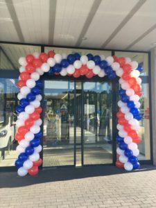 brama balonowa dla sklepu Aldi w Zabrzu