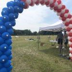 brama balonowa event amerykański