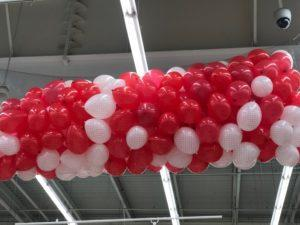 dekoracja balonowa w Dąbrowie Górniczej www.balonowedekoracje.pl