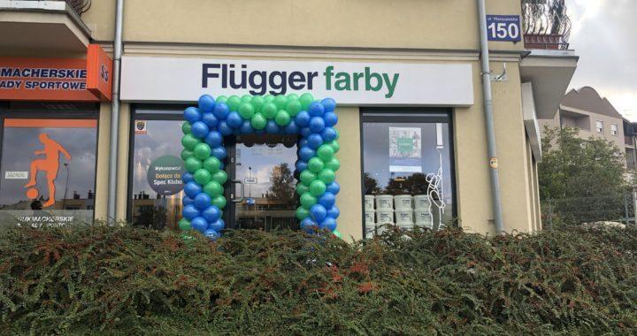 brama balonowa w Kielcach z okazji Fajrant z Fluggerem