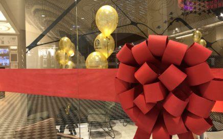 Balony na otwarcie Starbucks Warszawa