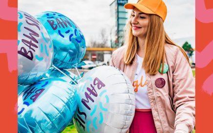balony foliowe z nadrukiem jako element akcji promocyjnej