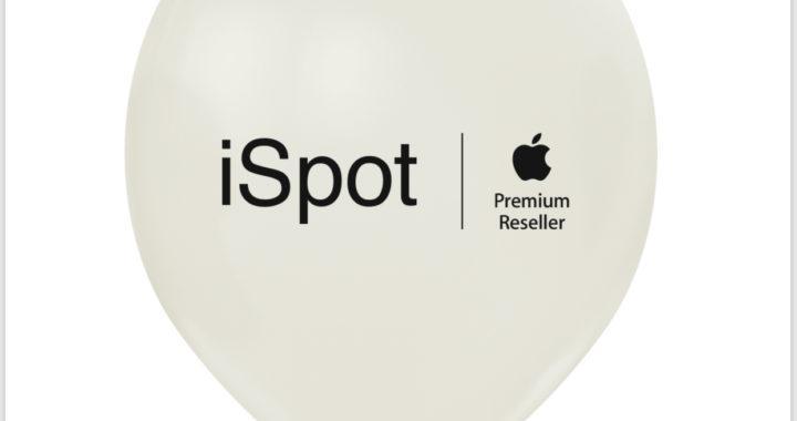 balony z nadrukiem iSpot Apple Premium Reseller