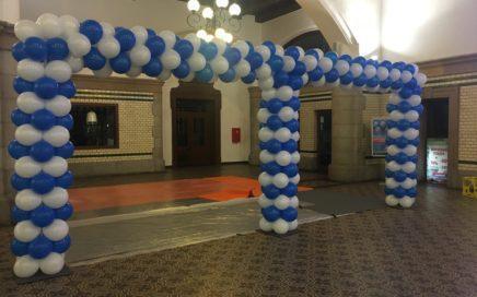 dekoracja-balonowa-dworzec-pkp-opole-balony-opole