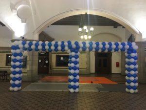podwójna-brama-balonowa-otwarcie-nowego-połączenia-kolejowego-PKP-Opole