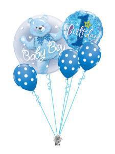 bukiet z balonów na roczek