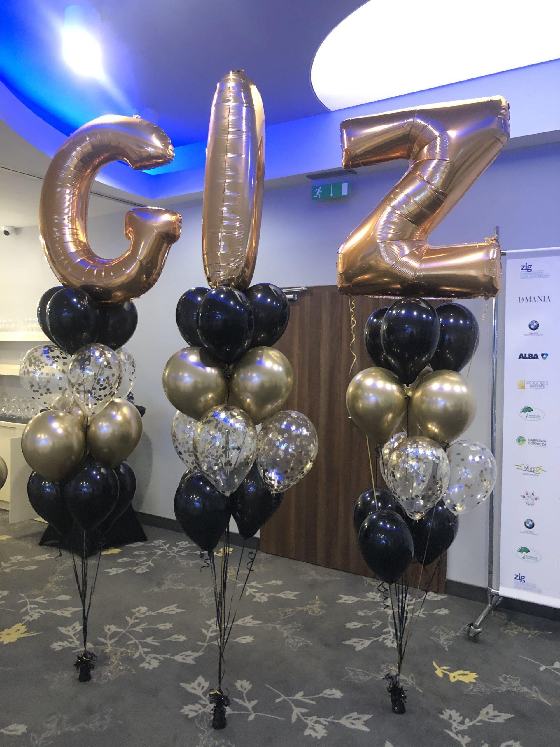 balony-z-helem-dekoracja-gali-jubileuszu-eventu