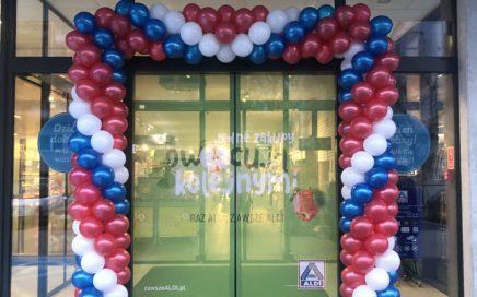 brama-balonowa-jako-dekoracja-na-otwarcie-aldi-w-Lodzi