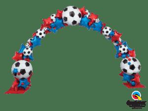 brama-balonowa-dekoracja-z-balonow-na-event-sportowy-pilkarski