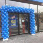 brama-z-balonow-w-Siemiatyczach-przed-sklepem-Pepco