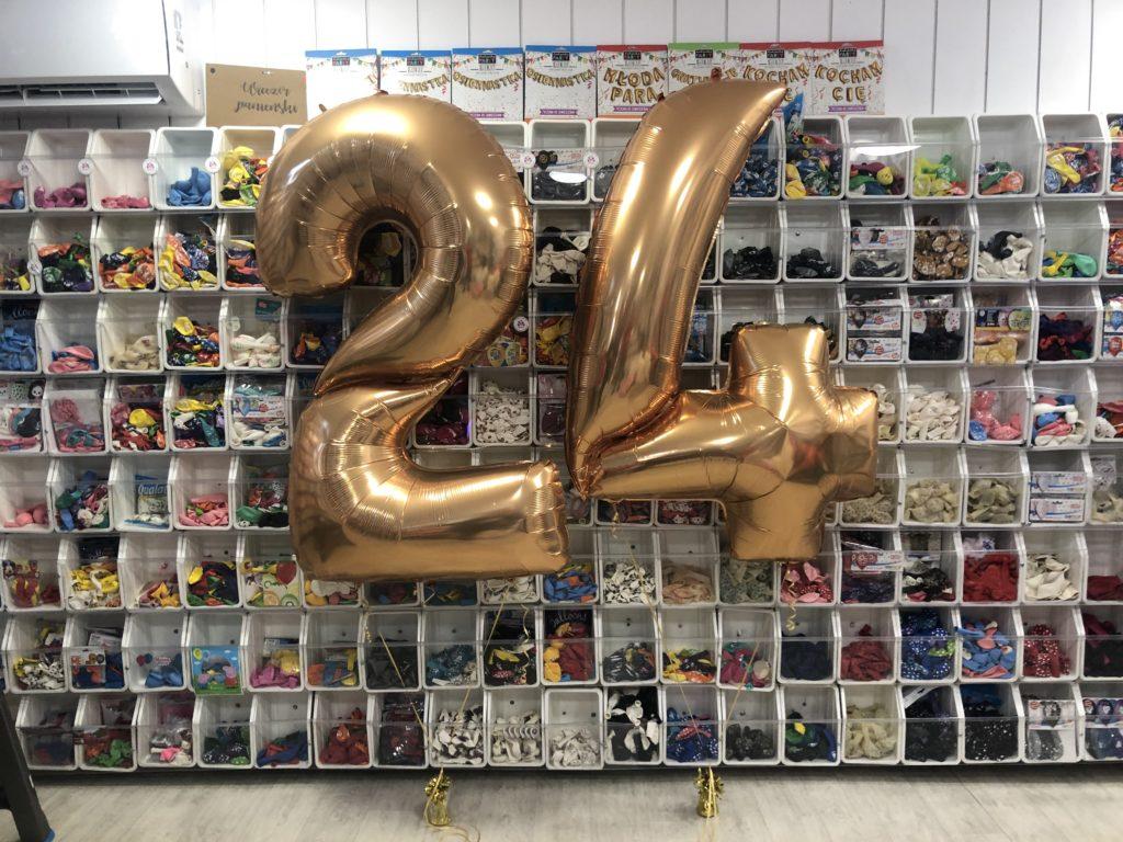 Balony napełnione helem z dostawą