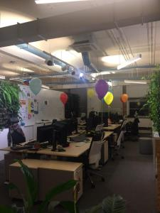 SAP Gliwice balony z helem