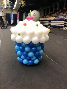 balonowa muffinka