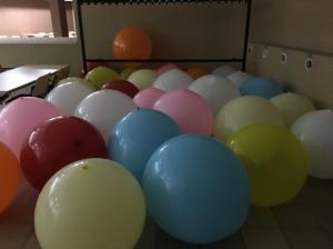 balony giganty na koncert