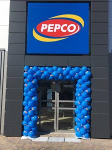 brama balonowa Pepco Giżycko