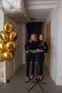 dekoracja balonowa dla MAFFASHION - MAF - balony foliowe z nadrukiem
