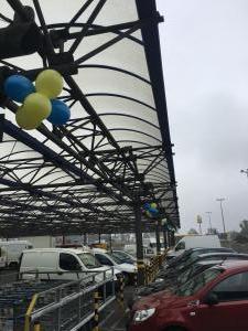 kule z balonów dekoracja balonowa Marko